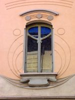 Window Art Noveau by aaisha-l-arrotina