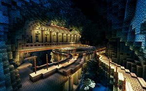Cavern city 2 by Oeasis
