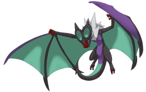 Doctane The Noivern by DeeJaysArt1993