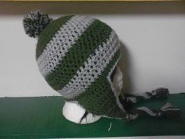 Slytherin Hat by AbstractAttic