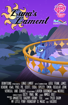 Luna's Lament Poster by Bronytoons
