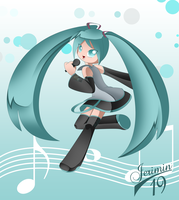Miku by Jerimin