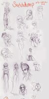 Sketchdump again! by EsuNeh