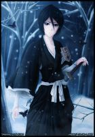 Bleach calendar 2012 - Rukia by Law67