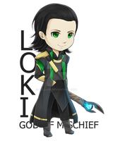 Loki by Sellleh