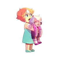 babies~ pearl and amethyst by mimiahmed