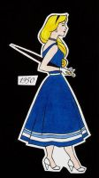 Disney Woman of 1950: Aurora by loutres