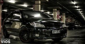 HDR toyota Vios by eyeinterruption