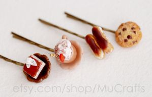 sweet bobby pins by BadgersBakery