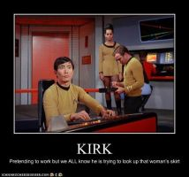 Kirk strikes again by Vulcan-girl