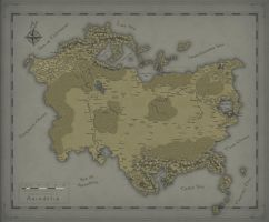 Arindelia, Northern Continent by SevenBridges
