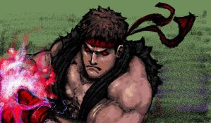 evil ryu by molee