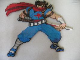 Strider Hiryu - Iron by VV-Weegee