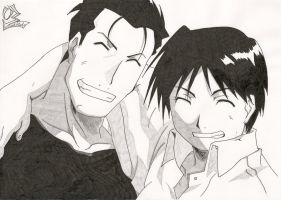 FMA - Roy and Hughes by Elrick87