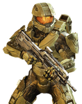 Halo 4 - Masterchief Render 2 by Crussong