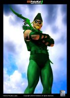 Green Arrow JLA by patokali