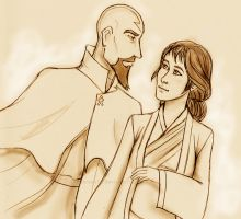 Pema and Tenzin by Amaterasu16