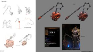 Diablo 3 weapon by GrayShuko
