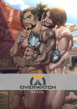 Hanzo x McCree by Suyohara