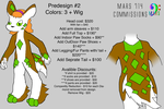 PreDesign Costume/Fursuit #2 by mars714