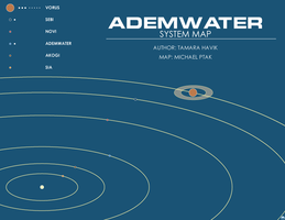 Ademwater Map by Norsehound
