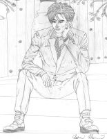 Gackt Sitting Pensive? by Jasumi