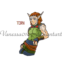 My Torn drawing- from Jak II by Vanessa0100