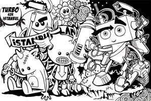robbot full scene by Turbo-S2K by Turbo-S2K