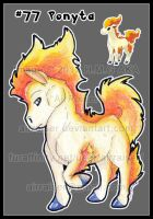 Pokemon: Ponyta 2012 by AirRaiser