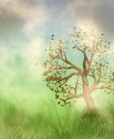 Freebie Tree Background by JunkbyJen