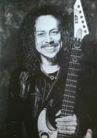 Kirk Hammett by Joan95