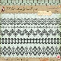 French Borders Brushes 1 by starsunflowerstudio