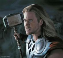 The God of Thunder by YashinMaru