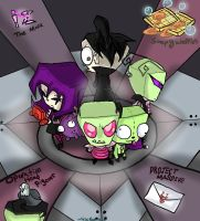 Invader Zim - Continuity by HezuNeutral