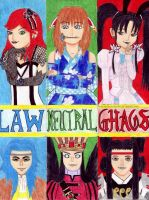 Girls of The Alignments by MonarchyBunny