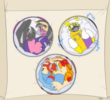 Padded balls by The-Padded-Room