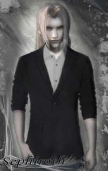 Sephiroth in Casual Wear by akonyah