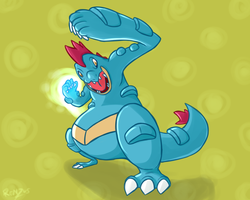 #160 Feraligatr by renzus