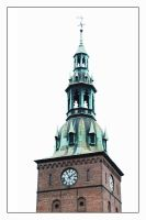 Oslo Cathedral Tower by neonstz