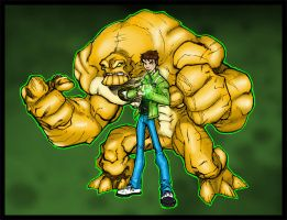 ben 10 Coloured. by Highlander0423