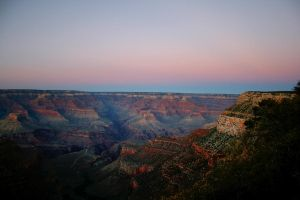Grand Canyon at Sunset by Test-Grave