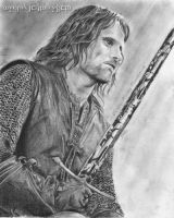 Aragorn Son of Arathorn by MeryHeartless
