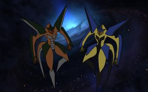 Skyquake and Dreadwing (level 4) by Unknown117