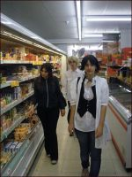 The Cullen go to shopping xD by Thara-Wood