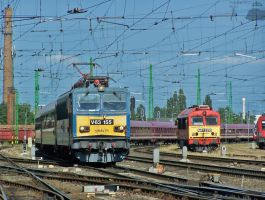 V63 155 with KINK FM Sziget partytrein in Gyor by morpheus880223