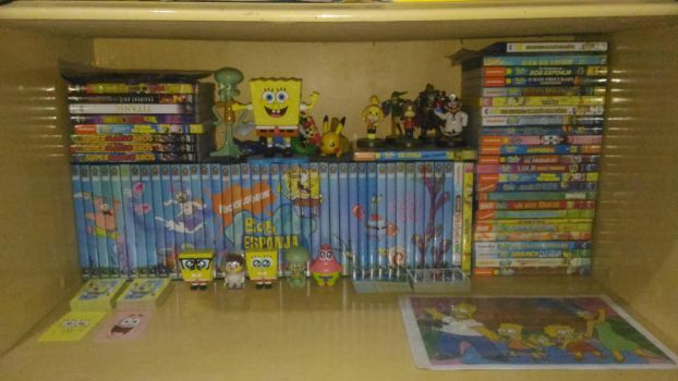 My Spongebob's dvd collection by iedasb