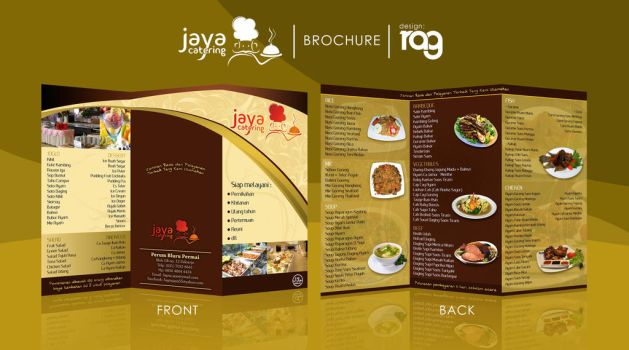 Client - Brochure JayaCatering by relyv