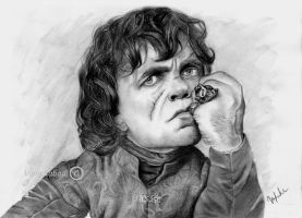 Tyrion Lannister by vipinkabadi