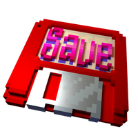 feliciaSave Emote in 3D by panzi
