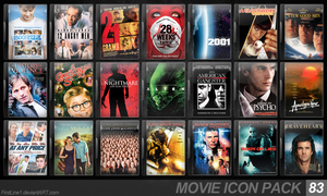 Movie Icon Pack 83 by FirstLine1